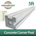 Concrete Reinforced Corner Posts 5ft