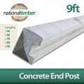 Concrete Reinforced End Posts 9ft
