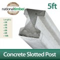 Concrete Reinforced Slotted Posts 5ft