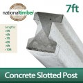 Concrete Reinforced Slotted Posts 7ft