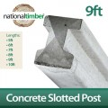 Concrete Reinforced Slotted Posts 9ft