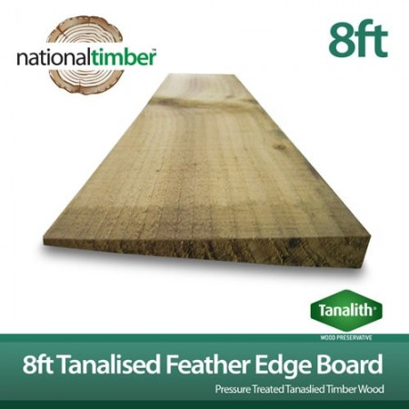 Featheredge Boards 8ft